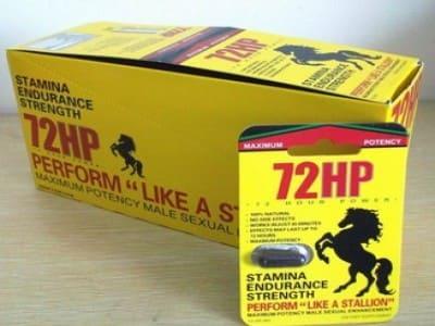 72 HP Herbal Capsule