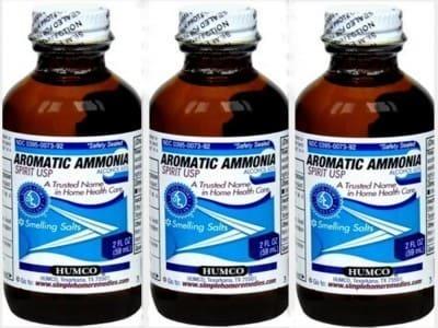AROMATIC AMMONIA SPIRIT